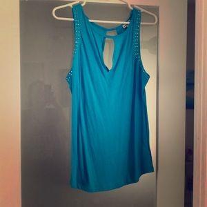 Comfy blue blouse